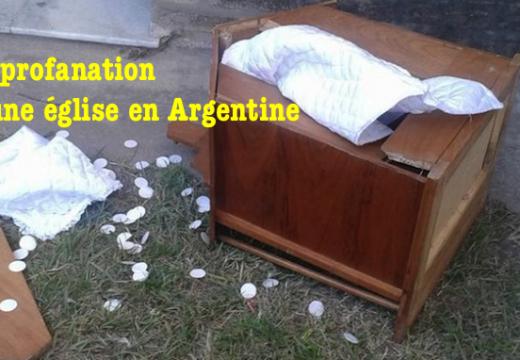 Profanation et vol dans une église en Argentine