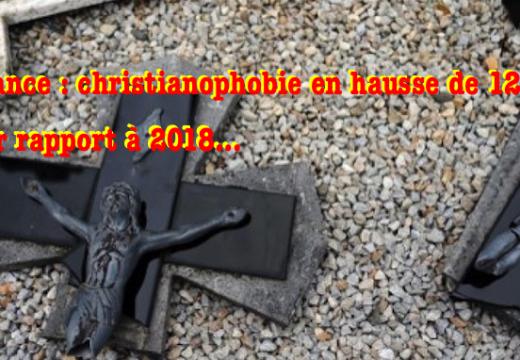 France : christianophobie en hausse de 12,5 % par rapport à 2017