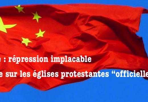 """Chine : répression antichrétienne même sur les églises """"alignées"""""""