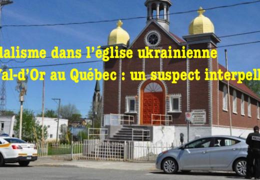 Église du Val-d'Or au Québec : un adolescent interpellé