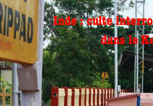 Inde : service religieux interrompu au Kerala