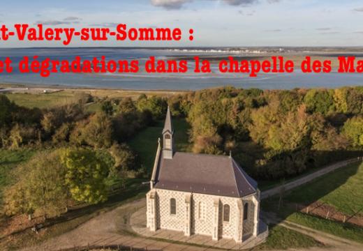 Vol et vandalisme dans la chapelle des Marins de Saint-Valery-sur-Somme