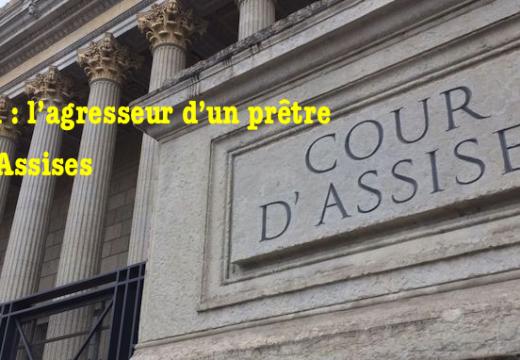 L'agresseur d'un prêtre comparaît aux Assises de Lyon