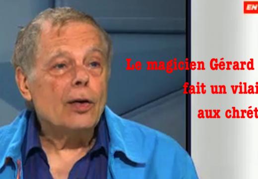Pauvre Gérard Majax…