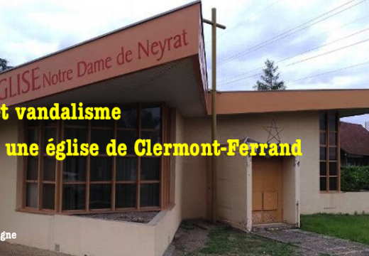 Vandalisme et vol dans l'église Notre-Dame-de-Neyrat à Clermont-Ferrand