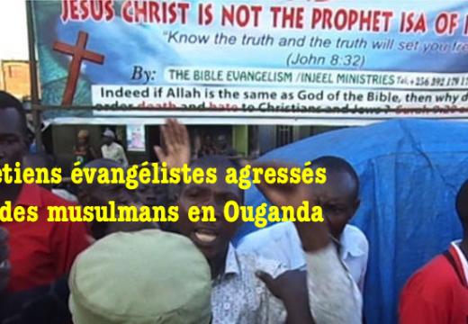 Des chrétiens attaqués par des musulmans en Ouganda