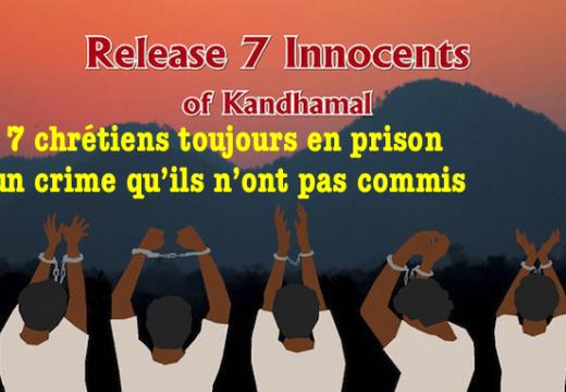 Inde : 7 chrétiens innocents croupissent en prison depuis des années…