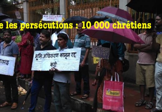 Contre les persécutions, les chrétiens manifestent dans le Jharkhand