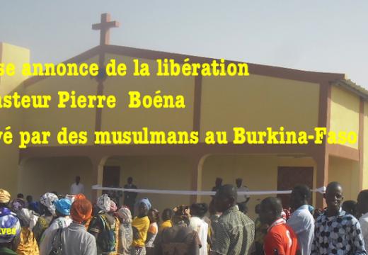Burkina Faso : le pasteur Boéna n'a pas été relâché par ses ravisseurs