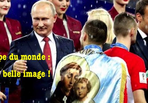 Coupe du monde de balle au pied : une belle image…