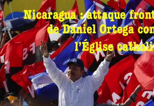 Daniel Ortega accuse l'Église catholique d'être l'alliée des « putschiste »