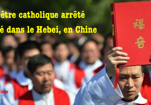 Chine : arrestation d'un prêtre catholique